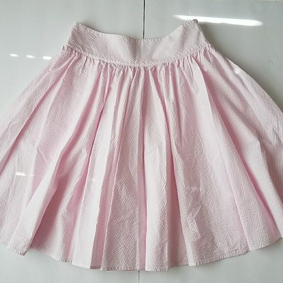 7925fab44c Ralph Lauren Seersucker Skirt Pastel Pink Sz 4. M_5b2e65f9df03079293fc5cbd